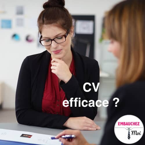 Votre CV est-il efficace ?