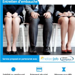 Preparation entretien d'embauche